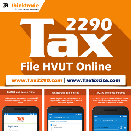eFile Tax Form 2290 Today